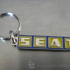 Coleccionismo de llaveros: LLAVERO SEAT. Lote 148220208