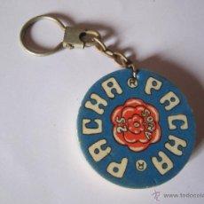 Colecionismo de porta-chaves: ANTIGUO LLAVERO DISCOTECA PACHA 25 AÑOS. Lote 45068526