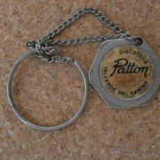 Collezionismo di Portachiavi: LLAVERO DISCOTECA PATTON LLAV-4249. Lote 45240096