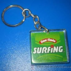 Coleccionismo de llaveros: LLAVERO REFRESCO SURFING. Lote 45741793