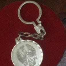 Coleccionismo de llaveros: LLAVERO ANTIGUO DE PLATA,SAN GREGORIO CIR 10 - ZARAGOZA -.. Lote 46178818