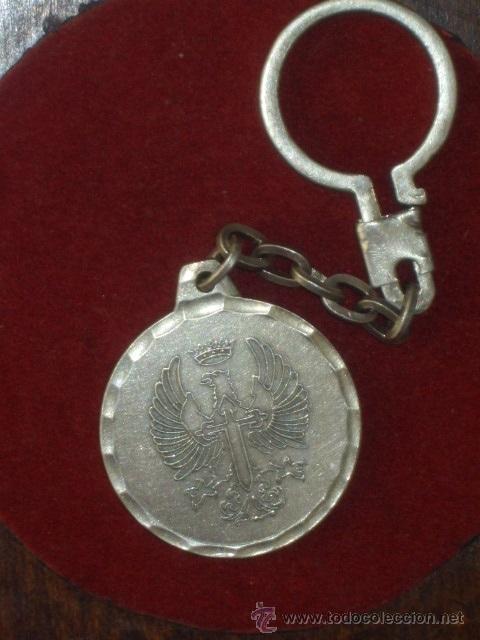 Coleccionismo de llaveros: LLAVERO ANTIGUO DE PLATA,SAN GREGORIO CIR 10 - ZARAGOZA -. - Foto 2 - 46178818