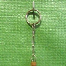 Colecionismo de porta-chaves: LLAVERO PUBLICITARIO BOTELLA MADERA HAVANA CLUB. Lote 46350368