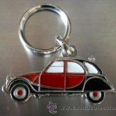 Colecionismo de porta-chaves: LLAVERO CITROEN 2CV CHARLESTON. Lote 210545535