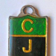 Coleccionismo de llaveros: LLAVERO DEL JUVENTUD DE BADALONA AÑOS 80. Lote 46773404