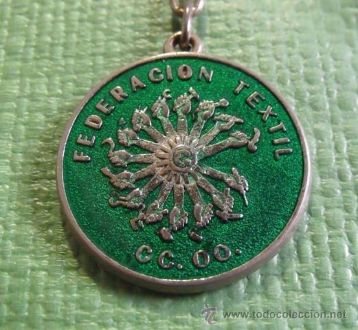 Coleccionismo de llaveros: Llavero Sindicato Comisiones Obreras - Federación Textil de CCOO - Foto 2 - 47101214