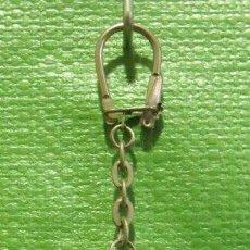 Colecionismo de porta-chaves: LLAVERO BOTELLA LÍQUIDO AZUL PUBLICITARIO DE HOGAR Y CÓSMETICA ESPAÑOLA SA (HOMCARE). Lote 47736640