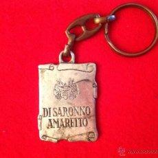 Coleccionismo de llaveros: ANTIGUO LLAVERO DEL LICOR AMARETO DI SARONNO.. Lote 49715481
