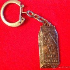 Coleccionismo de llaveros: ANTIGUO LLAVERO DE CAFÉ MARTEL. VER FOTOS. Lote 49716567