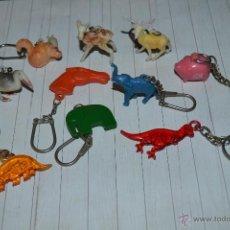 Coleccionismo de llaveros: LLAVEROS ANTIGUOS DE ANIMALES . Lote 51772043