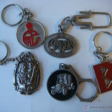 Coleccionismo de llaveros: LLAVERO LOTE DE 5 LLAVEROS Nº-6. Lote 52398542