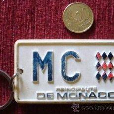 Coleccionismo de llaveros: LLAVERO COLECCIÓN PRINCIPAUTE PRINCIPADO DE MÓNACO. Lote 53853727