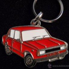 Coleccionismo de llaveros: LLAVERO SEAT 124 FC ROJO. Lote 231248690