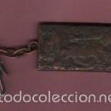 Coleccionismo de llaveros: LLAVERO DE COBRE - GERNIKA - PICASSO . Lote 56516075