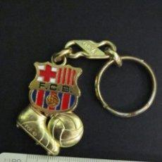 Coleccionismo de llaveros: LLAVERO ANTIGUO FÚTBOL CLUB BARCELONA. Lote 56657528