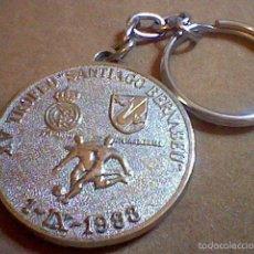 Coleccionismo de llaveros: LLAVERO IX TROFEO SANTIAGO BERNABEU 1993 REAL MADRID C F. Lote 56847350