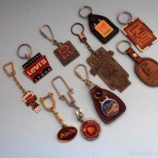 Coleccionismo de llaveros: LOTE 10 LLAVEROS #BV-R. Lote 57081469