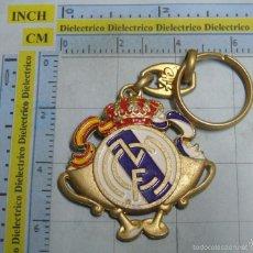 Coleccionismo de llaveros: LLAVERO DE DEPORTES. REAL MADRID CLUB DE FÚTBOL. ESCUDO COPAS. Lote 57222262