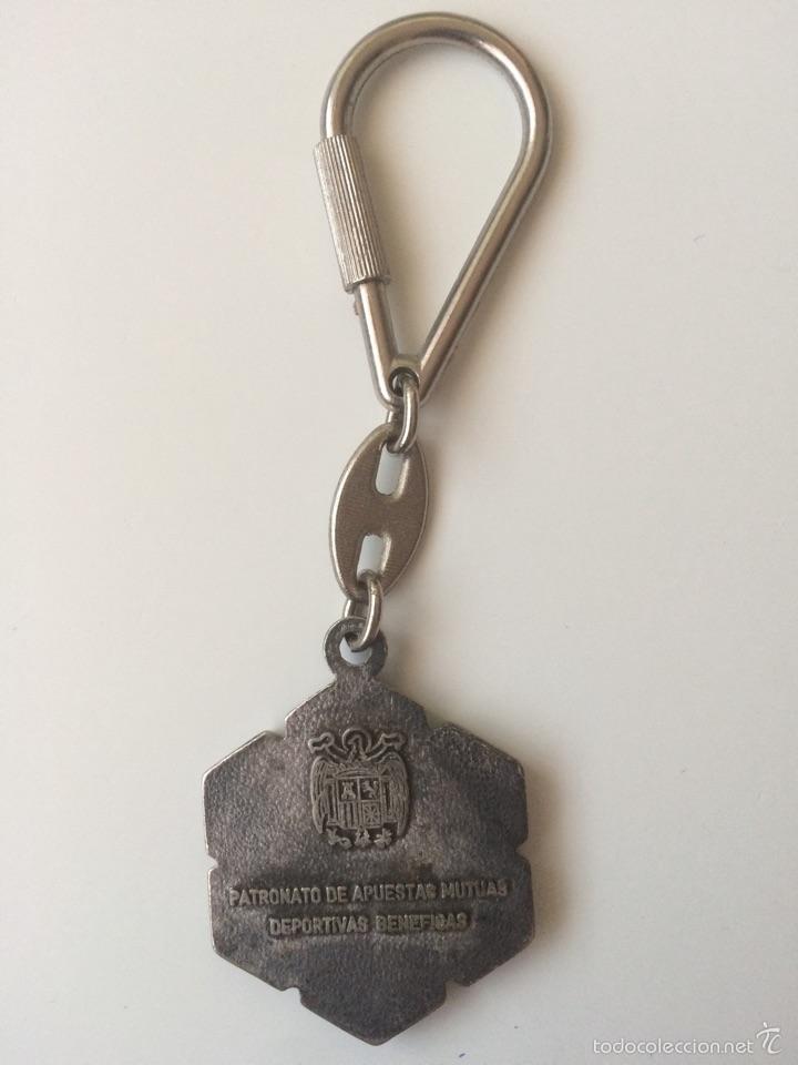 Coleccionismo de llaveros: Llavero Quiniela / Llavero Antiguo / Llavero metalico - Foto 2 - 57230618