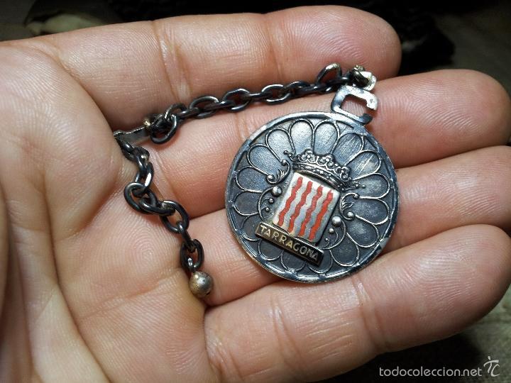 c191e0373768 llavero de cadena plata de ley y oro 14 kilt c - Comprar Llaveros ...