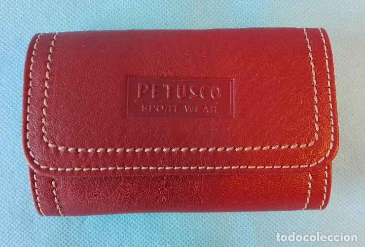 Coleccionismo de llaveros: LLAVERO DE PIEL PETUSCO. Envío: 1,30 € *. - Foto 2 - 61481007