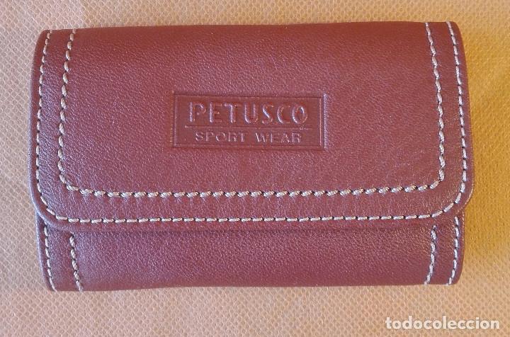Coleccionismo de llaveros: LLAVERO DE PIEL PETUSCO. Envío: 1,30 € *. - Foto 5 - 61481007