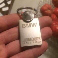 Coleccionismo de llaveros: LLAVERO DE LA MARCA DE COCHES BMW EN ACERO INOXIDABLE . Lote 62151568