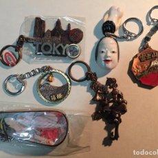 Coleccionismo de llaveros: 6 LLAVEROS JAPONESES.. Lote 63685115