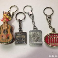 Coleccionismo de llaveros: LOTE DE 4 LLAVEROS. Lote 64321455