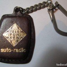 Coleccionismo de llaveros: LLAVERO AUTO-RADIO TELEFUNKEN. Lote 66059242