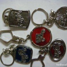 Coleccionismo de llaveros: LLAVEROS LOTE DE 5 LLAVEROS Nº-6. Lote 69701643