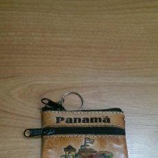 Coleccionismo de llaveros: LLAVERO MONEDERO «PANAMÁ». Lote 194860142