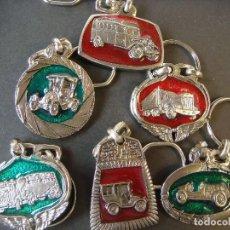 Coleccionismo de llaveros: LLAVEROS LOTE DE 6 LLAVEROS DE COCHES. Lote 72778703