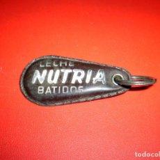 Coleccionismo de llaveros: DIFICIL LLAVERO LECHE NUTRIA BATIDOS.. Lote 73048371