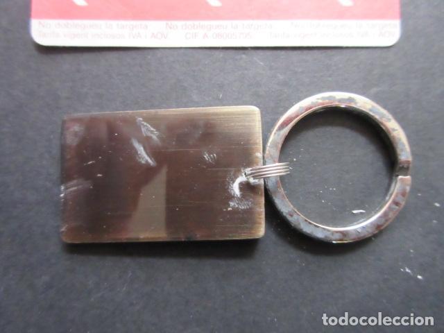 Coleccionismo de llaveros: LLAVERO FERROCARRIL METROPOLITANO DE BARCELONA ANTIGUA TARJETA DE METRO -FERROCARRIL TRANVIA AUTOBUS - Foto 3 - 73540479