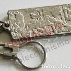 Coleccionismo de llaveros: LLAVERO EL GUERNICA - DE METAL - PABLO PICASSO - GUERRA CIVIL ESPAÑOLA ESPAÑA - PUBLICIDAD GILLETTE. Lote 75672191