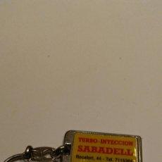 Coleccionismo de llaveros: LLAVERO TALLER SABADELL. Lote 77292361