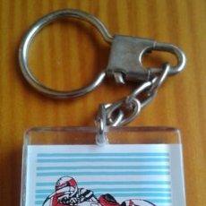 Coleccionismo de llaveros: LLAVERO MARLBORO. MOTOCICLISMO. MOTO. YAMAHA. TABACO. METACRILATO. VER FOTOS CARAS DISTINTAS.. Lote 80789534