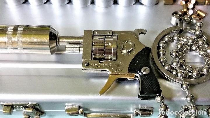 Coleccionismo de llaveros: LLAVERO PRECIOSO MICRO REVÓLVER XITHOS AUTOMATIC: ACERO Y BRONCE - AUSTRIA 1.980 ¡¡¡SÓLO HOY!!!! - Foto 6 - 82026640
