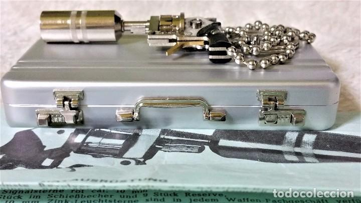 Coleccionismo de llaveros: LLAVERO PRECIOSO MICRO REVÓLVER XITHOS AUTOMATIC: ACERO Y BRONCE - AUSTRIA 1.980 ¡¡¡SÓLO HOY!!!! - Foto 10 - 82026640