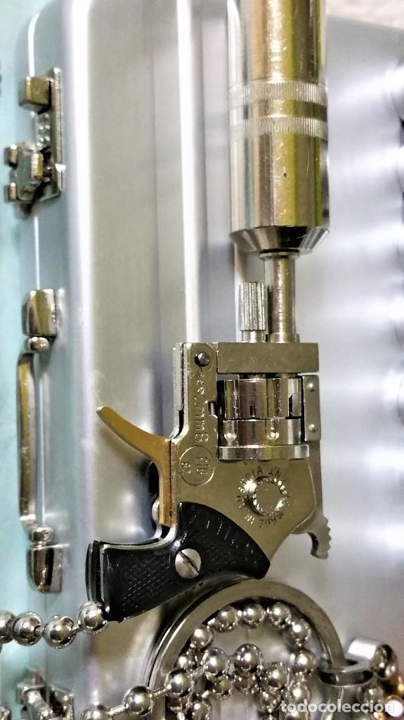Coleccionismo de llaveros: LLAVERO PRECIOSO MICRO REVÓLVER XITHOS AUTOMATIC: ACERO Y BRONCE - AUSTRIA 1.980 ¡¡¡SÓLO HOY!!!! - Foto 56 - 82026640