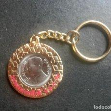 Coleccionismo de llaveros: LLAVERO CON MONEDA. Lote 83520588