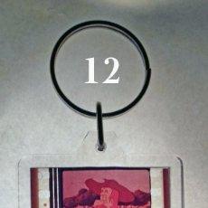 Coleccionismo de llaveros: LLAVEROS CON FOTOGRAMAS 35MM ORIGINALES DE SERIE DE DIBUJOS ANIMADOS DON QUIJOTE DE LA MANCHA (1979). Lote 86523386