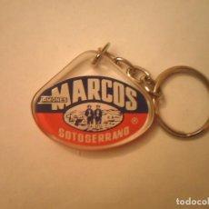 Coleccionismo de llaveros: LLAVERO JAMONES MARCOS SOTOSERRANO. Lote 86242456