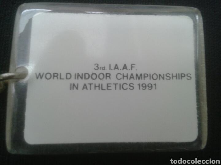Coleccionismo de llaveros: Llavero Sevilla 1991 mundial atletismo - Foto 2 - 88156116