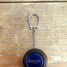 Coleccionismo de llaveros: ANTIGUO LLAVERO METRO RADIANT. Lote 89168960