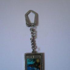 Coleccionismo de llaveros: LLAVERO ANTIGUO COSTA BRAVA. Lote 91277040