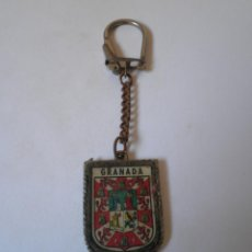 Coleccionismo de llaveros: LLAVERO ANTIGUO GRANADA. Lote 91281035