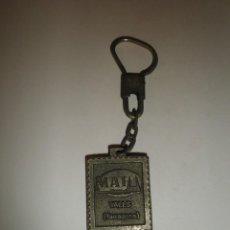Coleccionismo de llaveros: LLAVERO ANTIGUO PUBLICIDAD MAI VALLS TARRAGONA. Lote 91632885