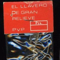 Coleccionismo de llaveros: LLAVERO LLAVEROS FUTBOL KEYRING CULTURAL POLIDEPORTIVO VALDEGANGA ALBACETE. Lote 92710850